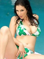 Big Titted Jelena Jensen Gets Wet and Wild