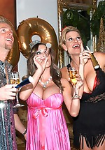 Kelly Madison and Jenna Presley ring...