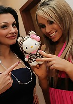 Aletta Ocean and Aleska Diamond...