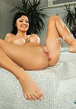 Aletta Ocean is pissing and fisting...
